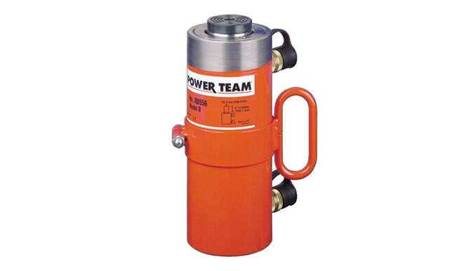 SPX Power Team RH108 Single Acting Center Hole Cylinders 8 Stroke 49//64 Hole Size 8 Stroke SPX Power Team Corporation 10 Ton Capacity 49//64 Hole Size
