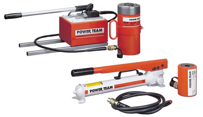 30 Ton Capacity 2 7//16 Stroke 2 7//16 Stroke SPX Power Team Corporation SPX Power Team RPS302 Cylinder and Pump Set